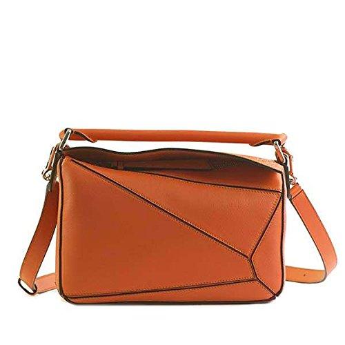 LOEWE ロエベ PUZZLE SMALL BAG ショルダーバッグ オレンジ 322.30.S21 [並行輸入品]