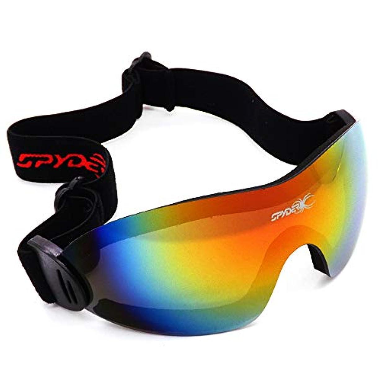 ボーカルステレオタイプ離れたスポーツサイクリングサングラス、 偏光レンズ固定式滑り止めスキーガラスサングラスレンズ移動式サイクリング用ウィンドメガネ