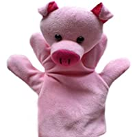 ychoice面白いFinger PuppetsおもちゃHand Puppets Ducks Soft Toys for Children Play Storyおもちゃ( Pig )
