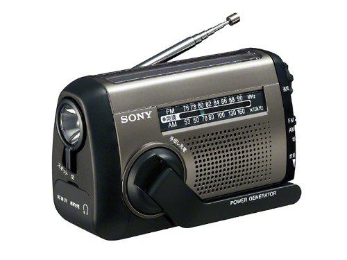 SONY FM/AMポータブルラジオ ICF-B88/S