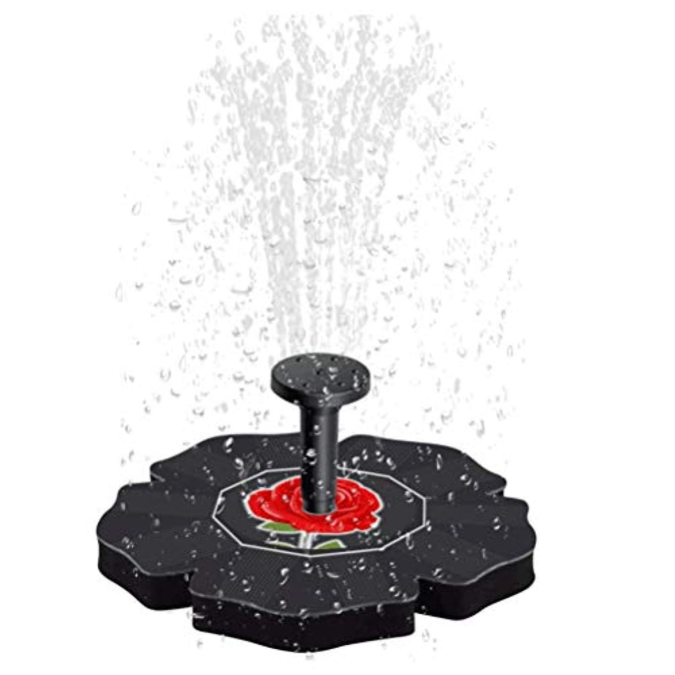 革命的驚かす征服LIOOBO ソーラーパワーウォーターポンプバードバス噴水ブラシレスフローティング漂流パネル用バードバス用水槽水槽水族館ガーデン芝生