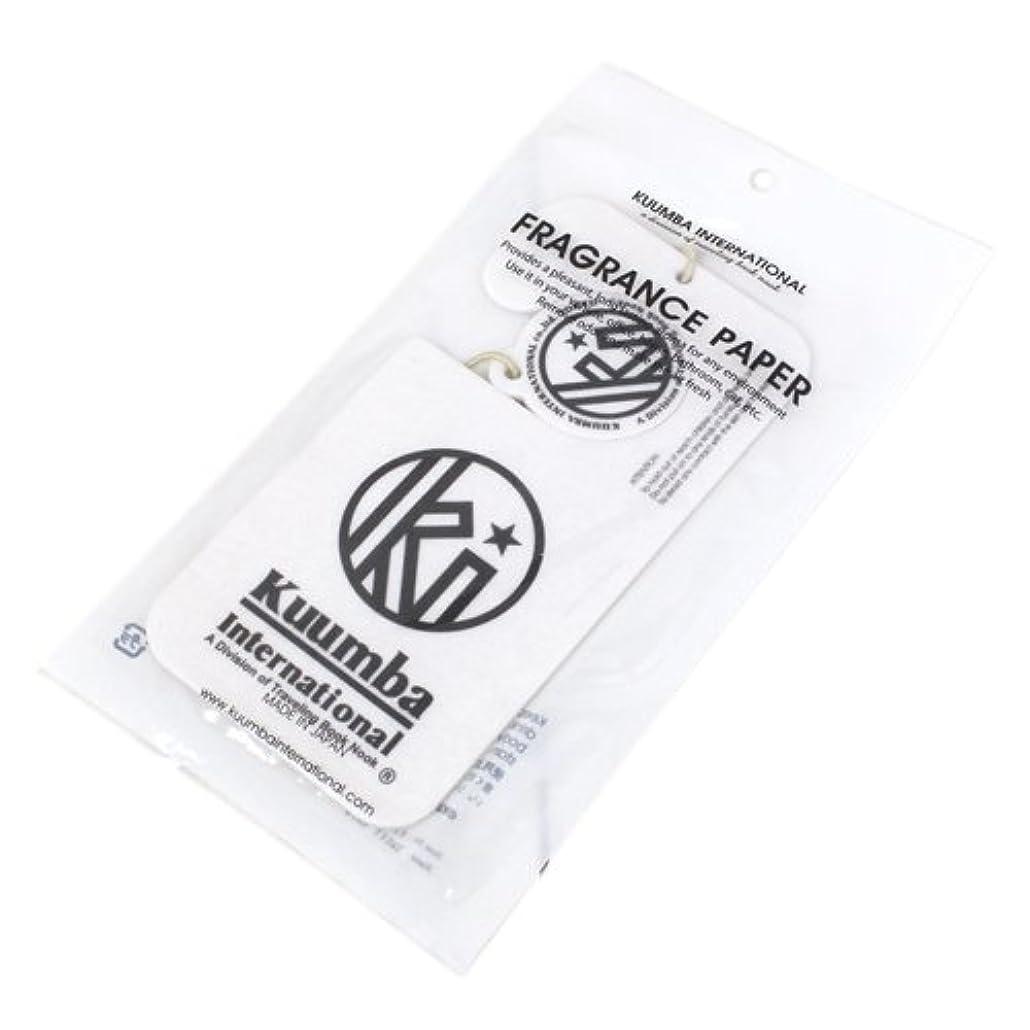 存在するバンジョーこんにちはKUUMBA (クンバ)『Paper Freshener』(SWEET RAIN) (ONE SIZE)