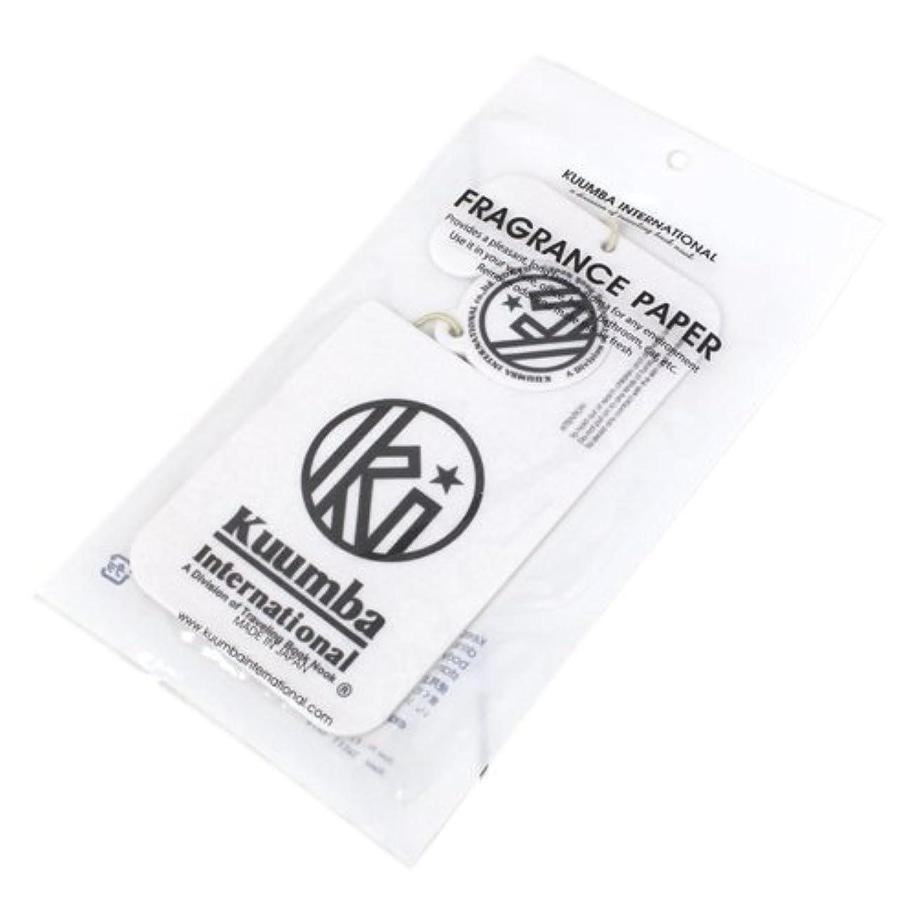 純正キャンパススクレーパーKUUMBA (クンバ)『Paper Freshener』(SWEET RAIN) (ONE SIZE)