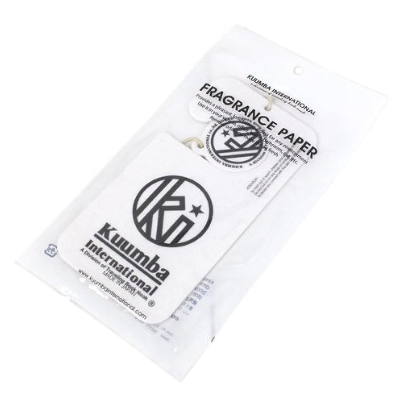チャネルカップかけるKUUMBA (クンバ)『Paper Freshener』(SWEET RAIN) (ONE SIZE)