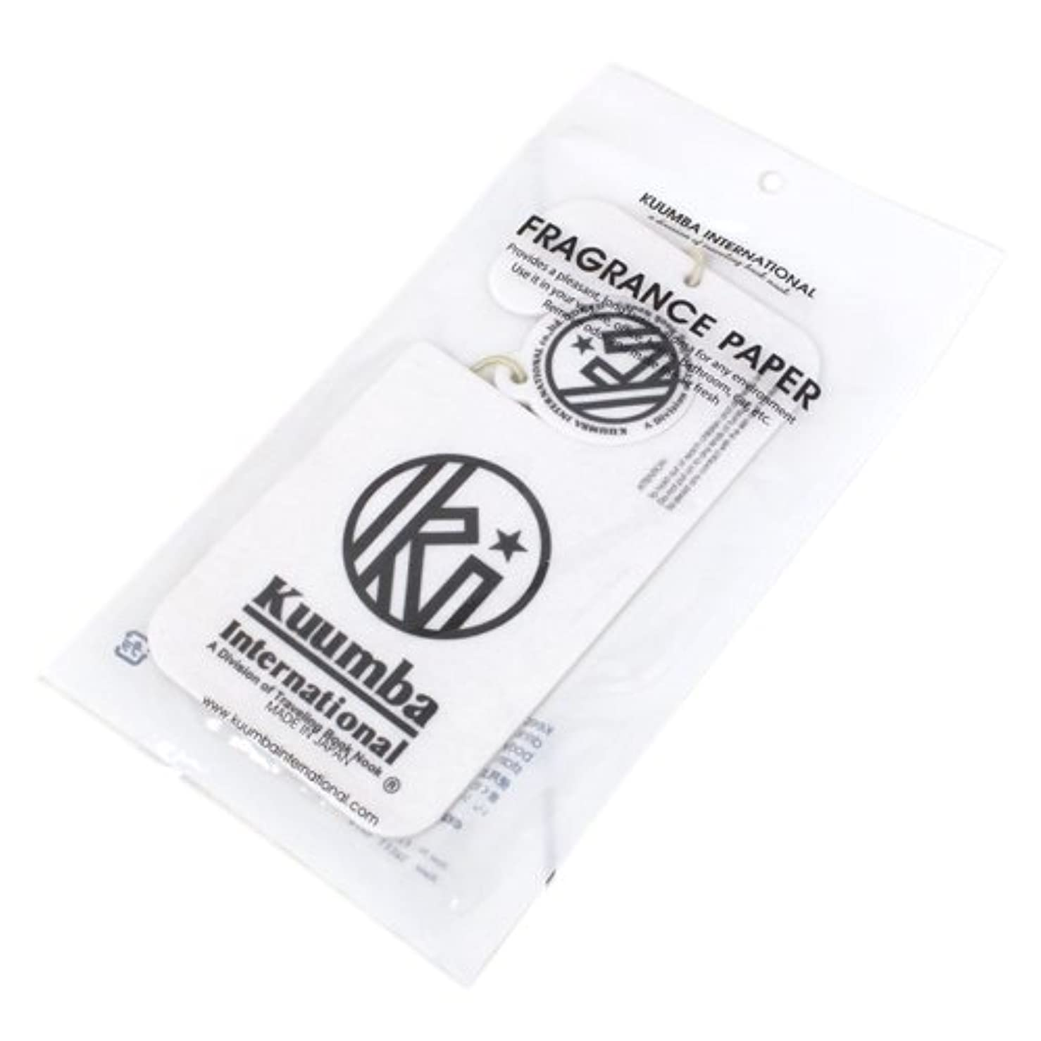 地元運搬チューブKUUMBA (クンバ)『Paper Freshener』(Acquolina) (ONE SIZE)