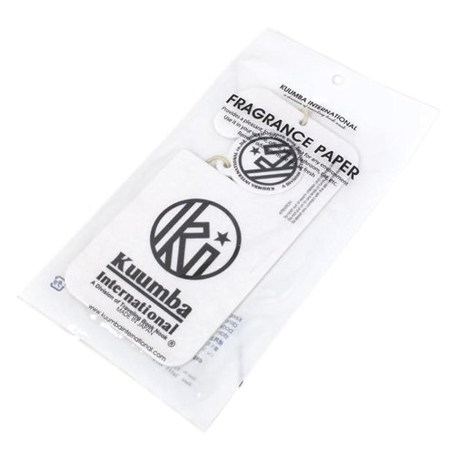 荒涼とした発行細断KUUMBA (クンバ)『Paper Freshener』(SWEET RAIN) (ONE SIZE)