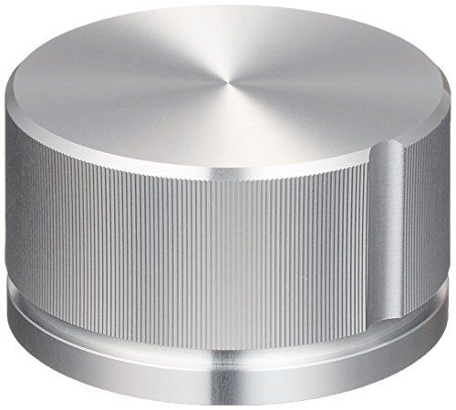 サトーパーツ メタルツマミ アルミ製 サイズL シルバー K-59-L-AG 販売単位1個