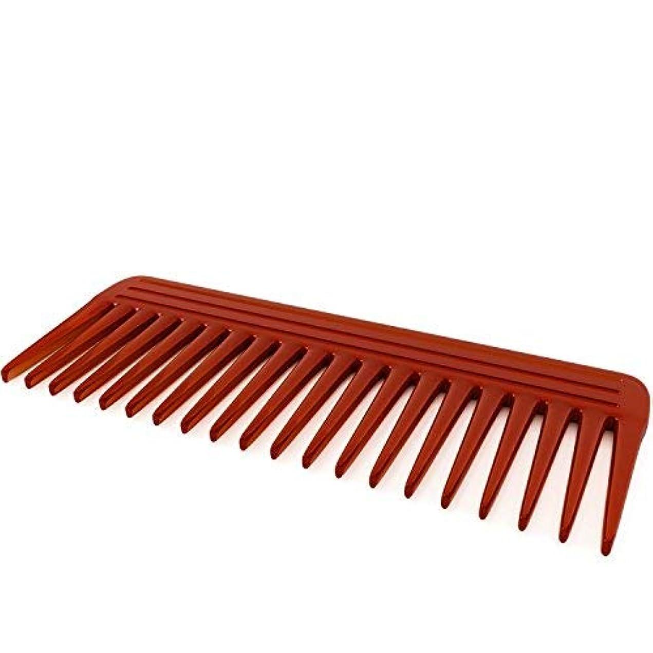 終了するスペインプラスチックNatural Hair Comb for Men & Women - Made From Pure Resin Pulp - Best Styling Comb for Long, Wet or Curly Hair...