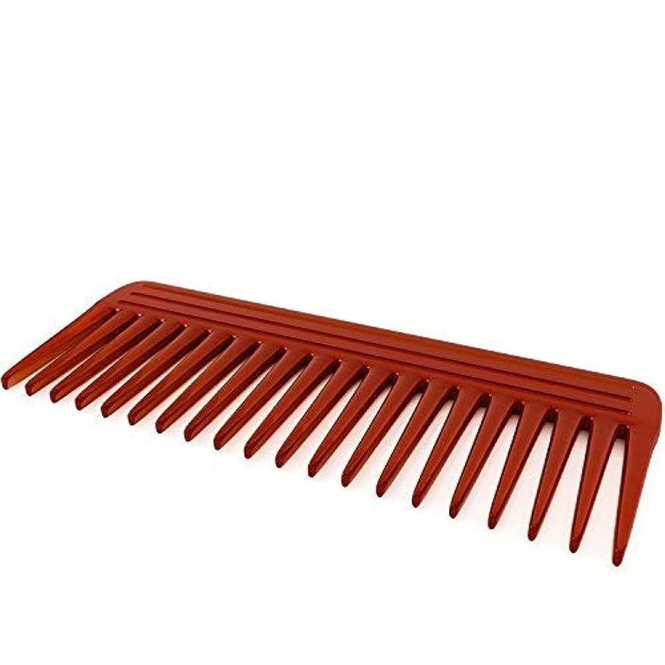 実験的出血骨の折れるNatural Hair Comb for Men & Women - Made From Pure Resin Pulp - Best Styling Comb for Long, Wet or Curly Hair...