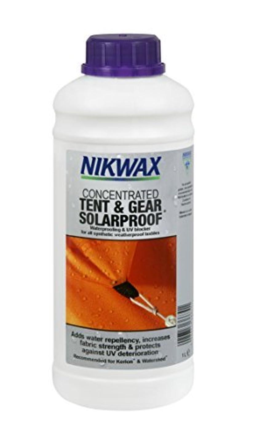 弱点ミニ臨検Nikwax Tent(テント) & Gear Solarproof Waterproofing [並行輸入品]