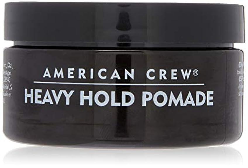 粒テラス特徴づけるアメリカンクルー Men Heavy Hold Pomade (Heavy Hold with High Shine) 85g/3oz並行輸入品