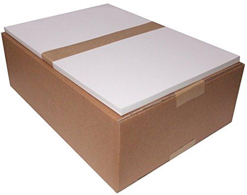 【光沢 / 厚紙】 レーザープリンターA3サイズ用紙 コート紙<110kg> 500枚