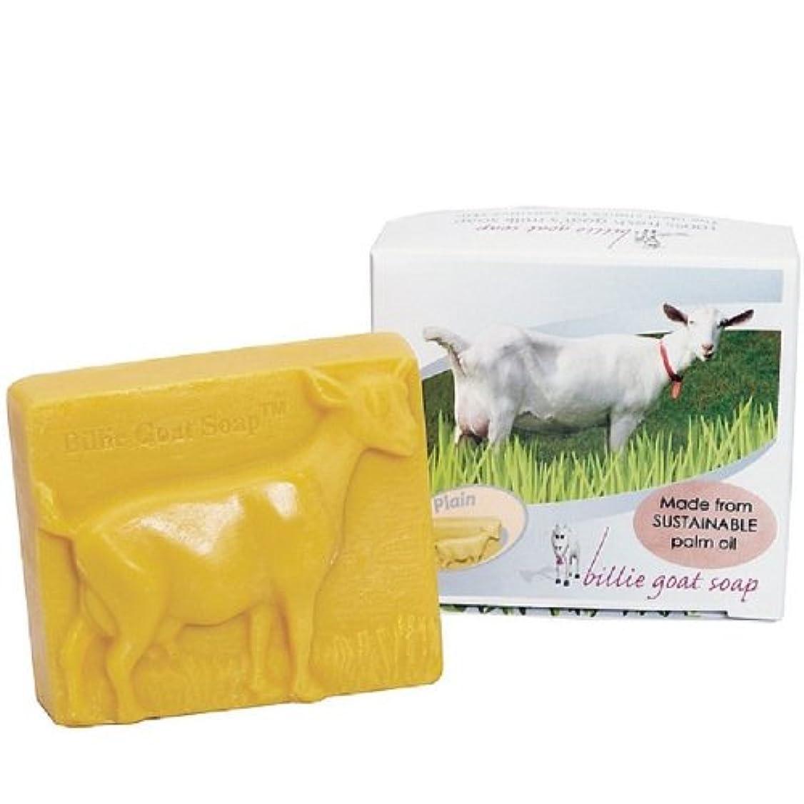 啓発する組み合わせる対処する【BILLIE GOAT SOAP】ビリーゴートミルクソープ 3個セット パームオイル使用 プレーン