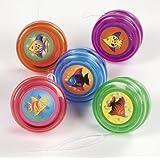 Mini Tropical Fish Yo-Yo'S (1 dozen) - Bulk [Toy] by N/A [並行輸入品]