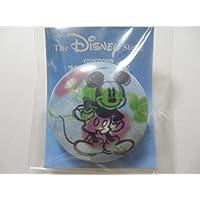 Disney Store ディズニーストア 1999年 ミッキーマウス あさがお 缶バッジ
