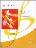 ラクール : 四重奏曲 (サクソフォン四重奏) ビヨドー出版