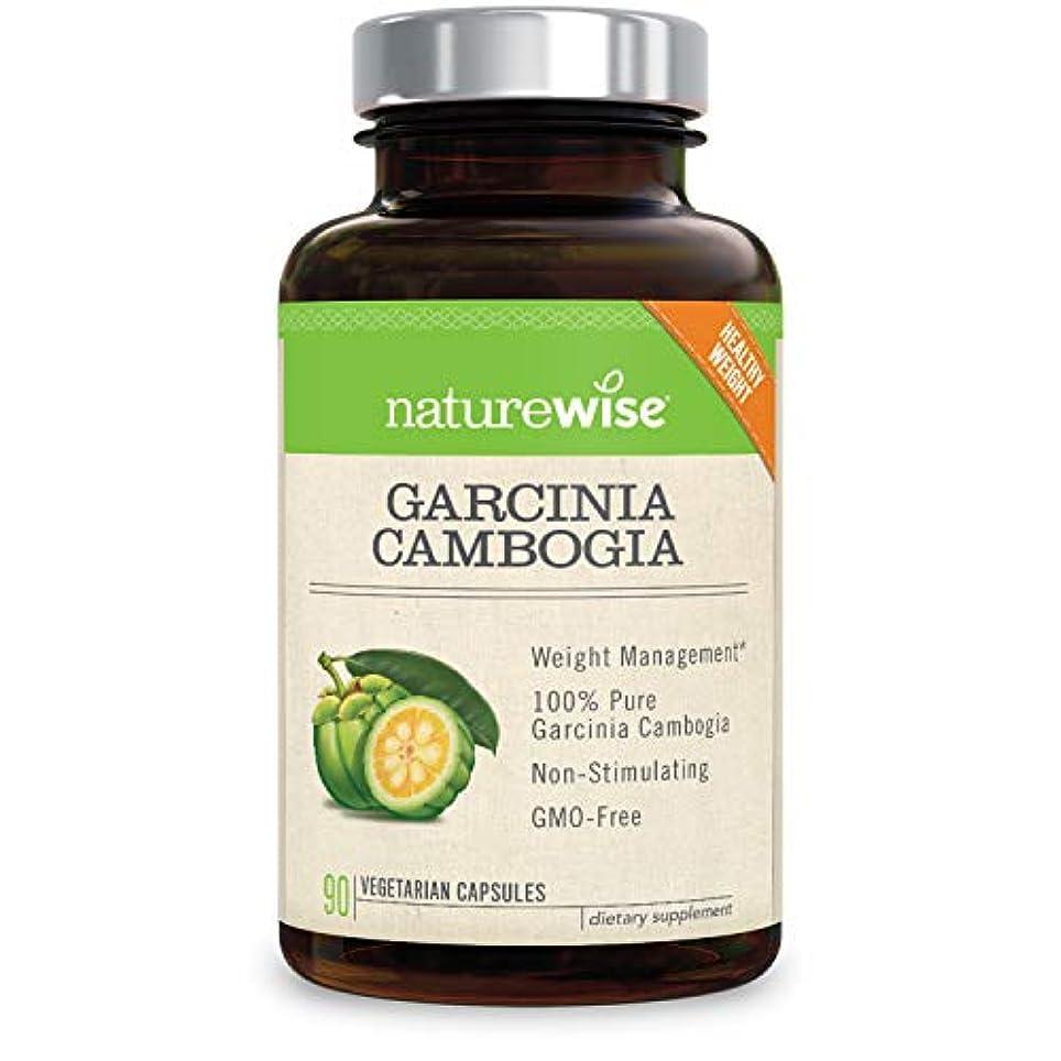 輝く揮発性経過NatureWise Garcinia Cambogia 90 caps.