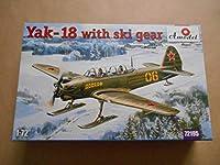 1/72 Aモデル ソビエト ヤコブレフ Yak-18 マックス練習機 スキー装着型