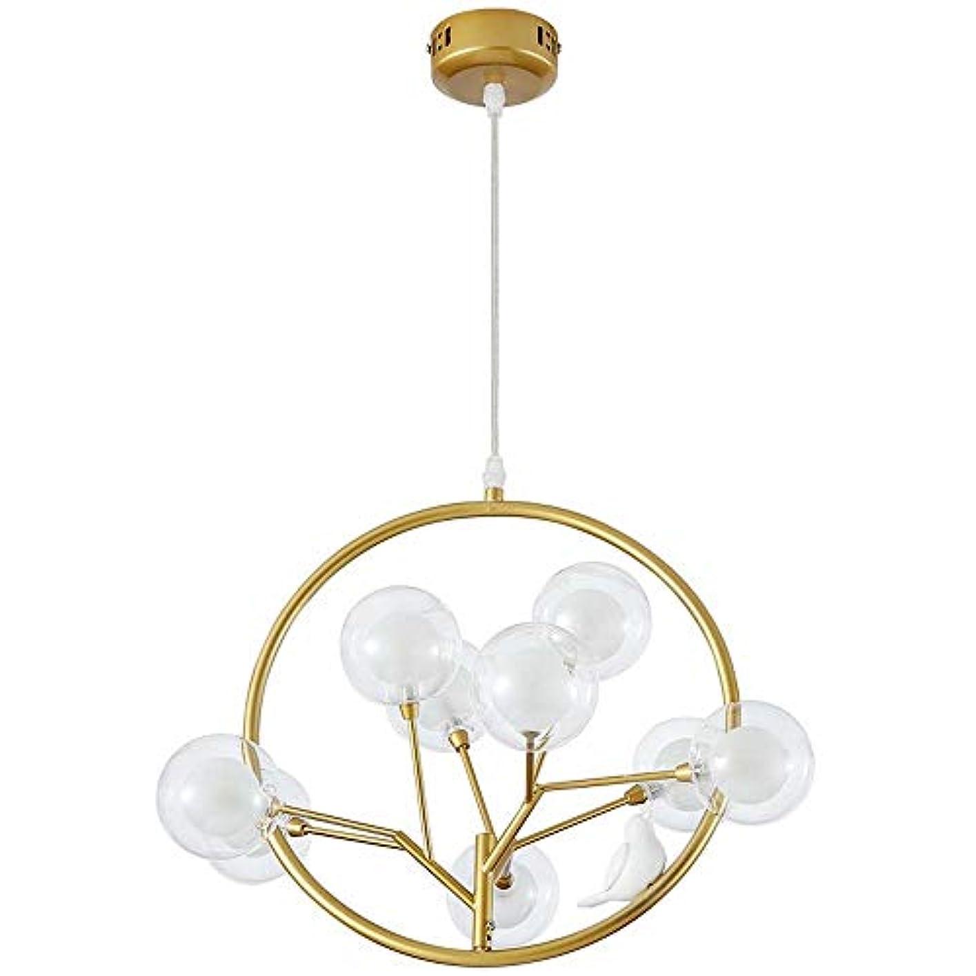 議会留め金拡声器シャンデリア シャンデリア 天井ランプ 装飾 吊り下げランプ 北欧 吊りランプ 耐久性 リビング 照明 MXLTIANDAO