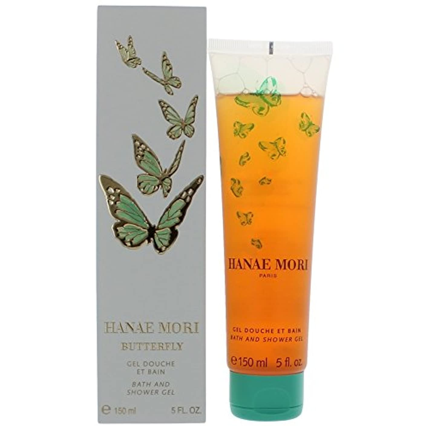 トリクルストローク近くHanae Mori By Hanae Mori For Women. Shower Gel 5 Ounces by Hanae Mori