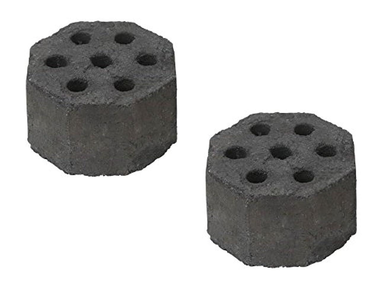 称賛に対処する方法論キャプテンスタッグ(CAPTAIN STAG) 成形炭 着火炭 炭 イージーチャコール ミニ 2個組 【UG-34/43/44カマドスマートグリルB6適応】 UJ-511