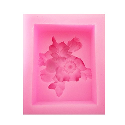 【Ever garden】 椿 の 花 シリコンモールド / 手作り 石鹸 / キャンドル / 粘土 / レジン / シリコン モールド / 型 抜き型