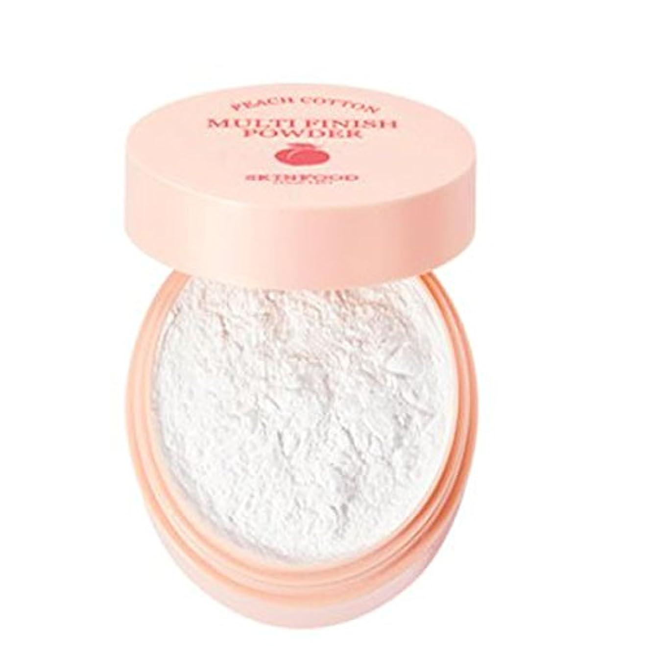 [SKINFOOD] Peach Cotton Multi Finish Powder ピッチサラッとマルチフィニッシュパウダー - 5g