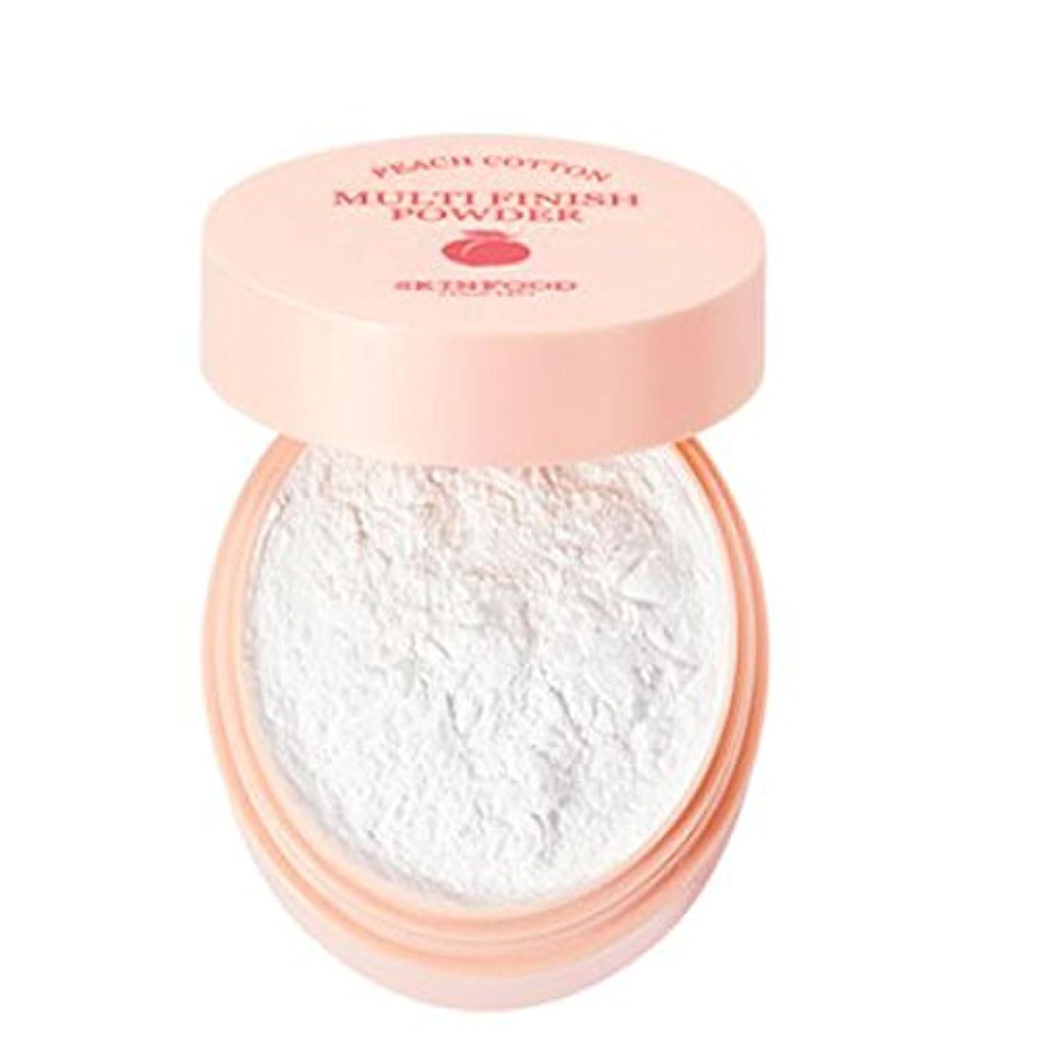 愛撫ゴージャス哲学[SKINFOOD] Peach Cotton Multi Finish Powder ピッチサラッとマルチフィニッシュパウダー - 5g
