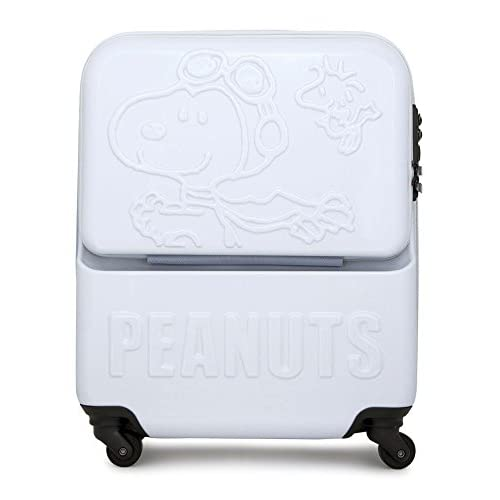 (ピーナッツ)peanuts スヌーピー SNOOPY キャリーケース VSN-0056 47.5cm ホワイト