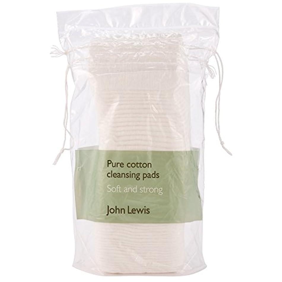 ジョン?ルイス純粋な綿のクレンジングパッド×50 (John Lewis) (x6) - John Lewis Pure Cotton Cleansing Pads x 50 (Pack of 6) [並行輸入品]