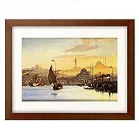 カール・ヌーマン Carl Neumann 「Constantinople. 1875」 額装アート作品