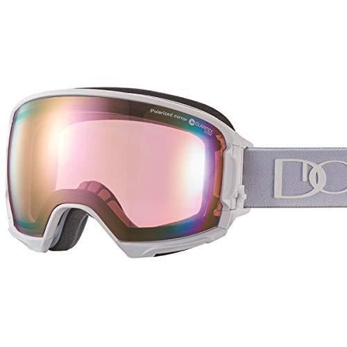 【国産ブランド】DICE(ダイス) スキー スノーボード ゴーグル ハイローラー 偏光 ミラー プレミアムアンチフォグ HR81361MAW