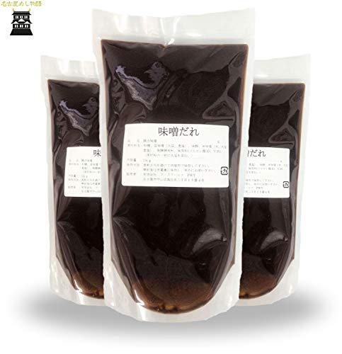 名古屋めし物語 : かけるだけで使える、味噌だれ 1kg (3袋)