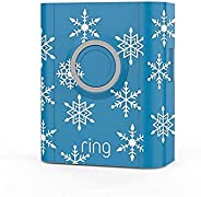 Ring Video Doorbell 3 and Ring Video Doorbell 3 Plus Holiday Faceplate - Snowflakes