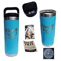 ブルーティーゴルフ&YETI(イエティ)カスタムメード RAMBLER18oz BTL ランブラー 18オンス ボトル (Reef Blue)