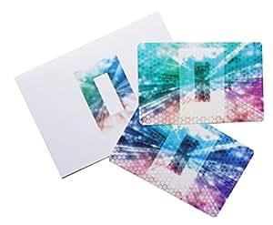 電磁波防止の決定版 電磁波放電カード α 1枚入り 電磁波対策・電磁波カットにはまず放電 (BLUE (ブルー))