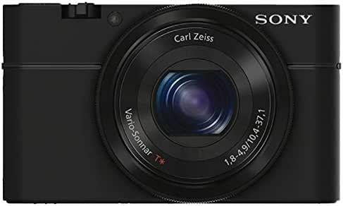 SONY デジタルカメラ DSC-RX100 1.0型センサー F1.8レンズ搭載 ブラック Cyber-shot DSC-RX100