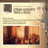 モーツァルト大全集 第9巻:弦楽五重奏曲、三重奏曲全集(全22曲)