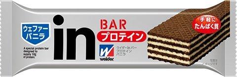 森永製菓 ウイダーinバー プロテイン バニラ 36g x 24セット