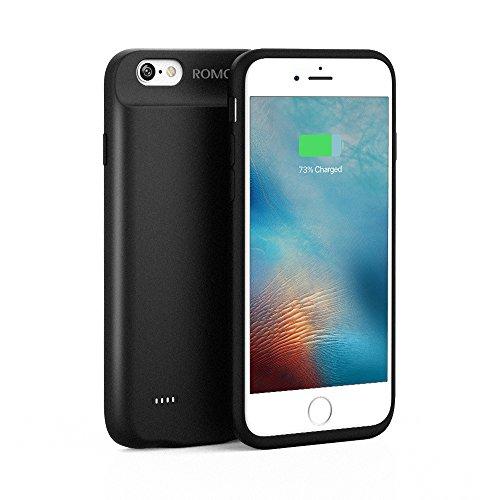 4c44453168 バッテリー内蔵ケース iPhone6 / 6s対応 ROMOSS 2800mAh ケース型バッテリー 大容量 軽量 120