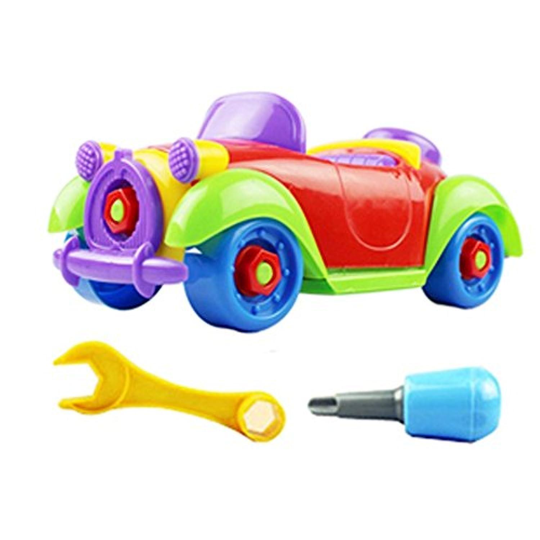 usstore Kid Baby子クリスマスギフト子供子赤ちゃん少年Disassemblyアセンブリクラシックカーおもちゃギフト