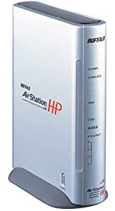BUFFALO HighPower無線LAN AirStation BroadBandルータコンプリートモデル (2.4GHz・54Mbps)WZR-HP-G54