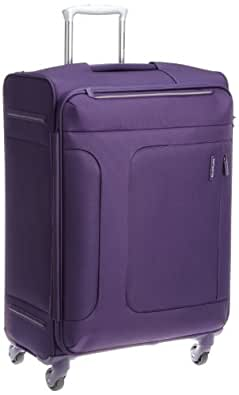 [サムソナイト] SAMSONITE ASPHERE / アスフィア スピナー66 (67cm/70L/3.1Kg) (スーツケース・ソフトケース・トラベル・軽量・大容量・エキスパンダブル・TSAロック装備・保証付) 72R*50002 50 (パープル)