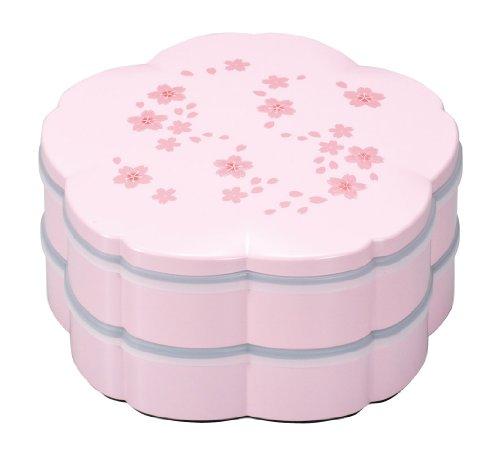 まえじゅう漆器 7.5桜オードブル ピンク 舞桜(シール蓋付...