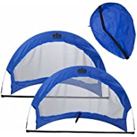 Brybelly sscr-302 2のセット、4 Pop Up Soccer目標with 2 Carryingバッグ