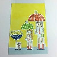 非売品!! 10 少年エース 2012年11月号付録 日常 ポストカード          (グッズ NICHIJOU あらゐけいいち 東雲なの はかせ 阪本