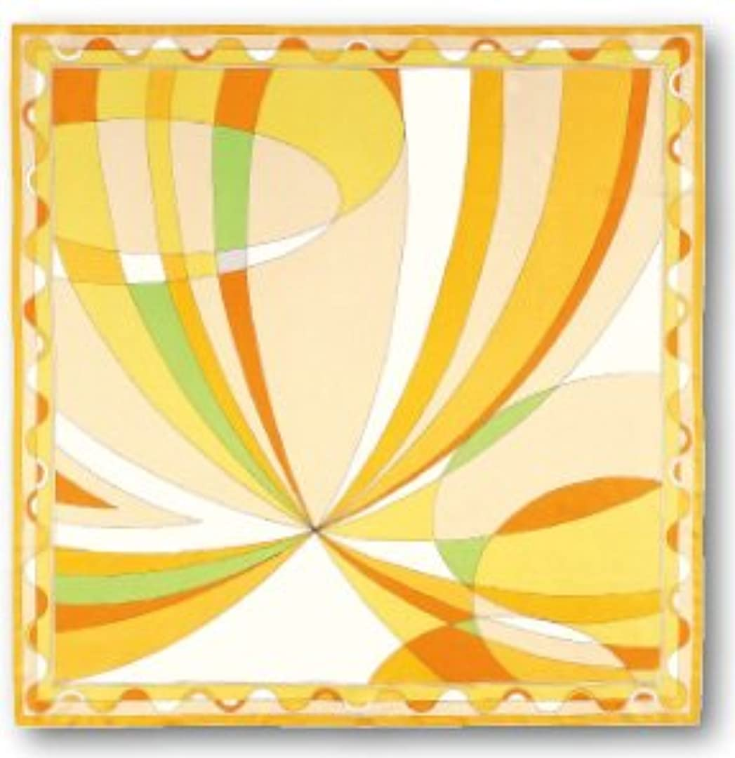最大化する着替える無知(ユーファクトリー)U-FACTORY シルクスカーフ 正方形 ラージ(円柄)