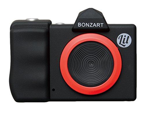 BONZART デジタルカメラ BONZART Lit + 30万画素 背面液晶搭載 音声付動画撮影可能 ブラック BONZ-LIT/BK