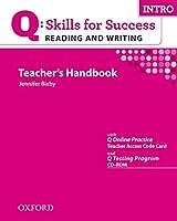 Q Skills for Success: Reading & Writing Intro Book Pack (Q Skills for Success Reading and Writing)