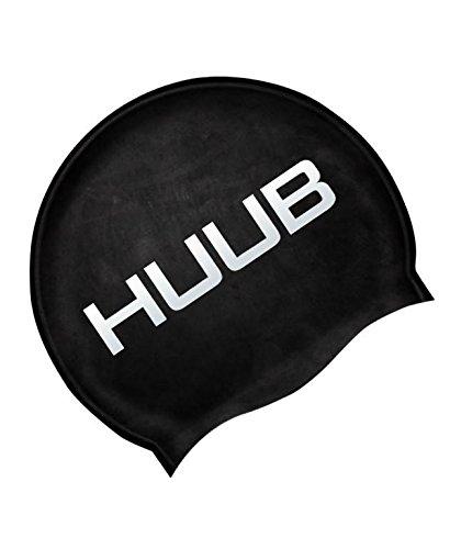 HUUB(フーブ) SWIM CAP スイムシリコンキャップ ブラック(BLACK)